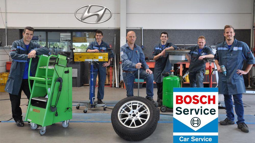 Ремонт автомобилей Хендай в авто сервисе Bosch